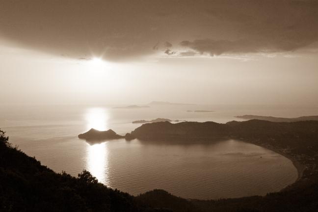 baai van Agios Georgios
