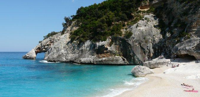 Kustlandschap Sardinie