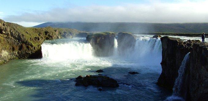 Godafoss Watervallen