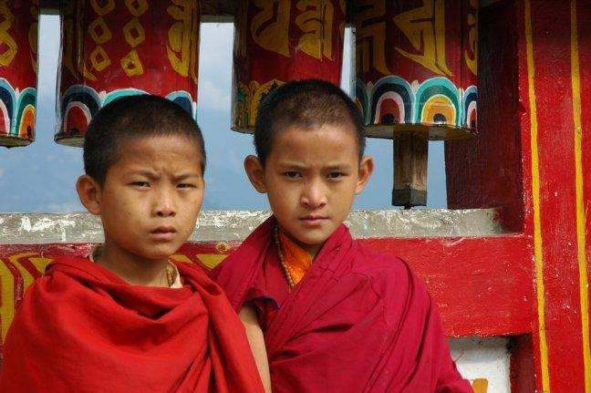 Jonge monnikken