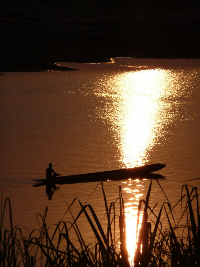 Lao sunset
