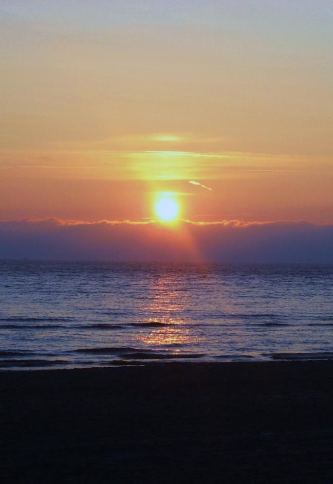 Zonsondergang Hargen aan Zee