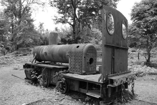 Don Det - oude locomotief