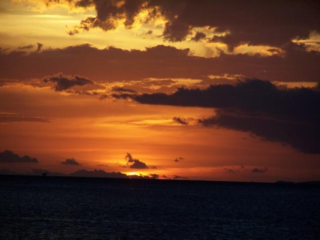 Zonsondergang Victoriameer 2