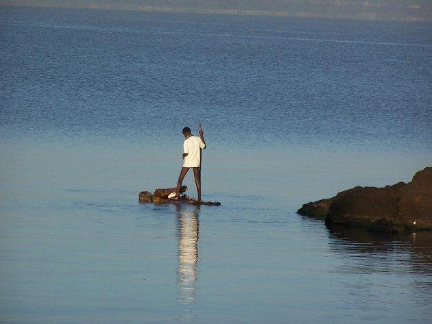 Overtocht over het Victoriameer