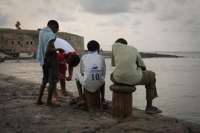 Hangjongeren Gorée
