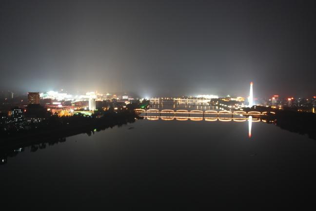 nachtfoto Pyongyang