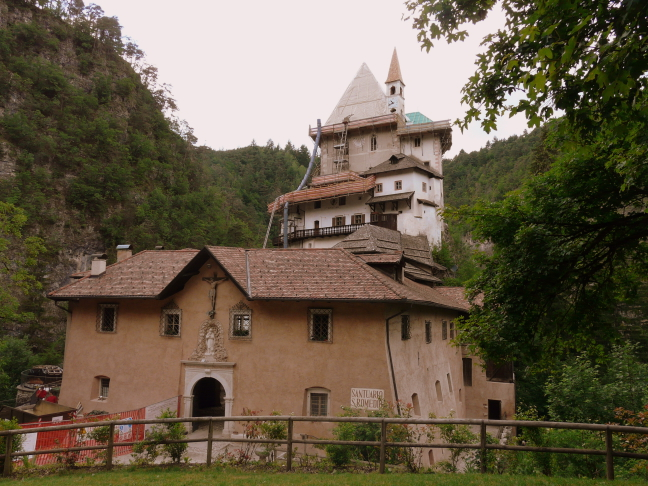 St Romedio Alpine Sanctuarry