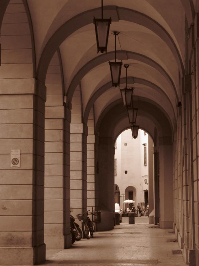 Bologna, stad van de poorten