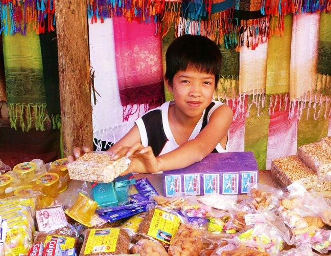 Bac Ha, markt