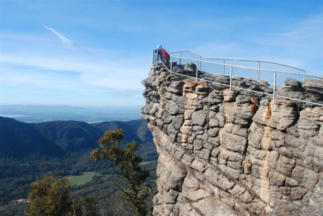 Pinnacle lookout  North Grampians