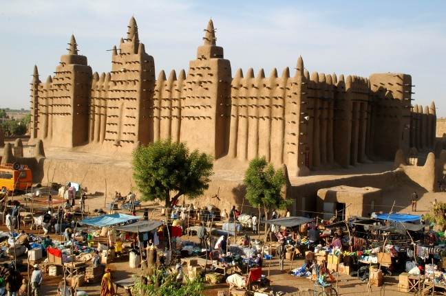 Moskee in Djenné