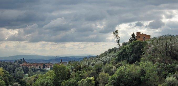 Uitzicht vanuit Siena
