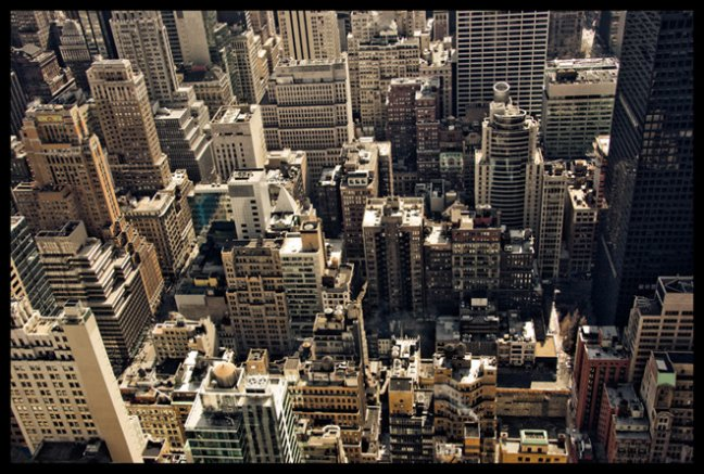 New York Architecture from above