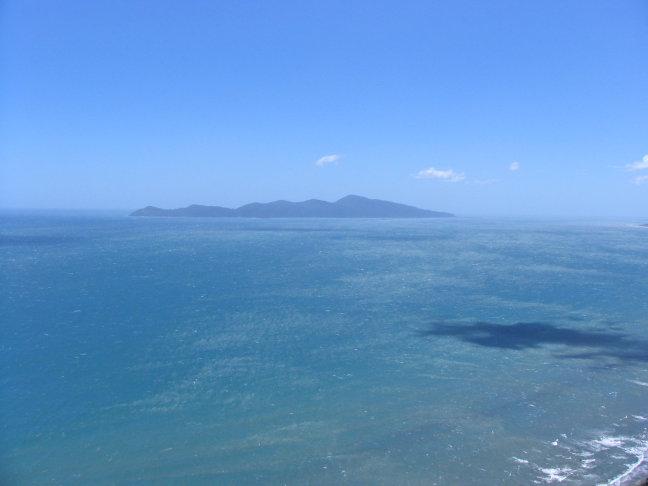 Uitzicht op Kapiti island