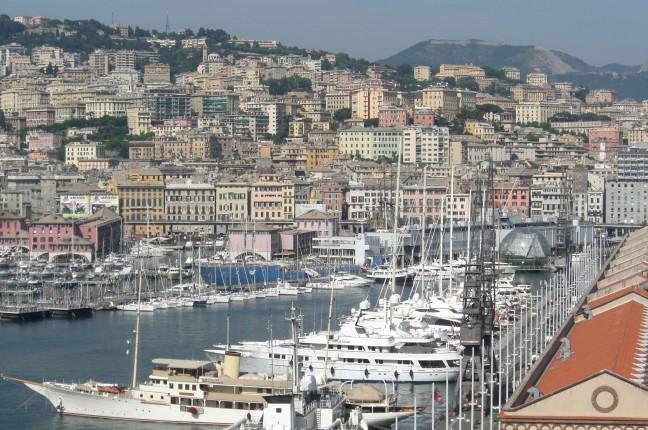 Blik op Genova