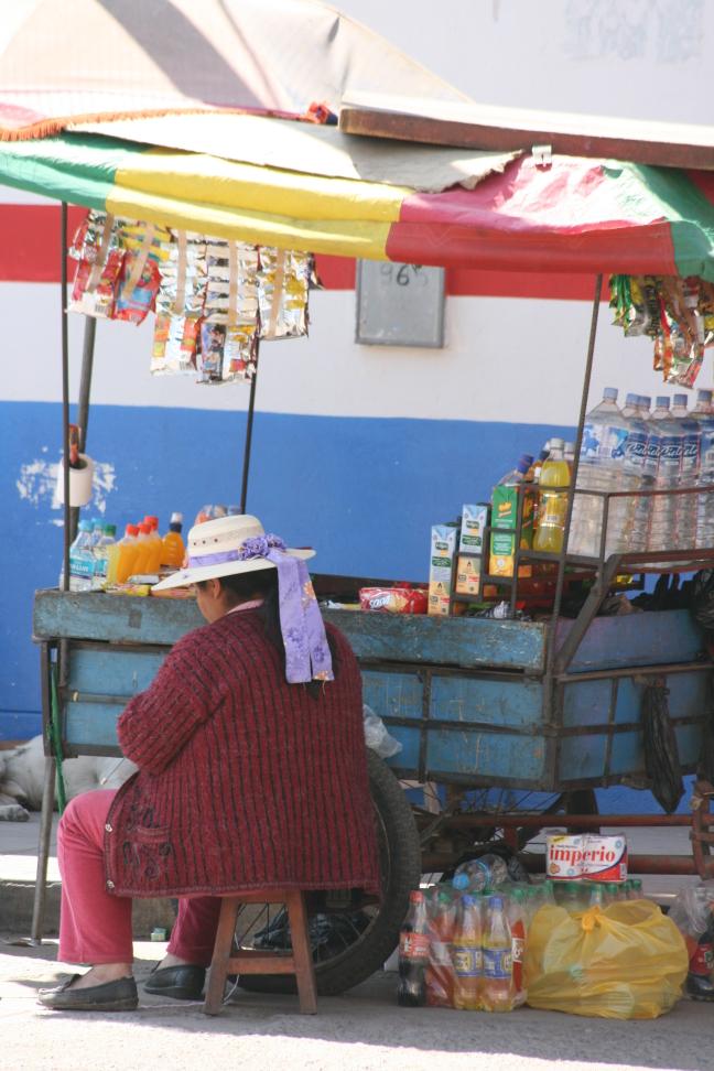 Marktkraampje in Nazca
