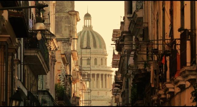 Doorkijkje in Havana