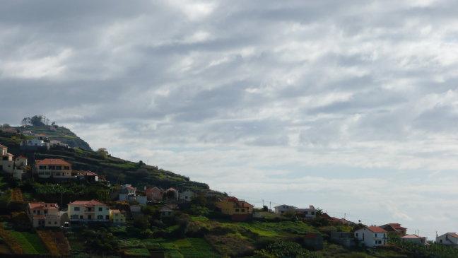 Dorpje in de heuvels
