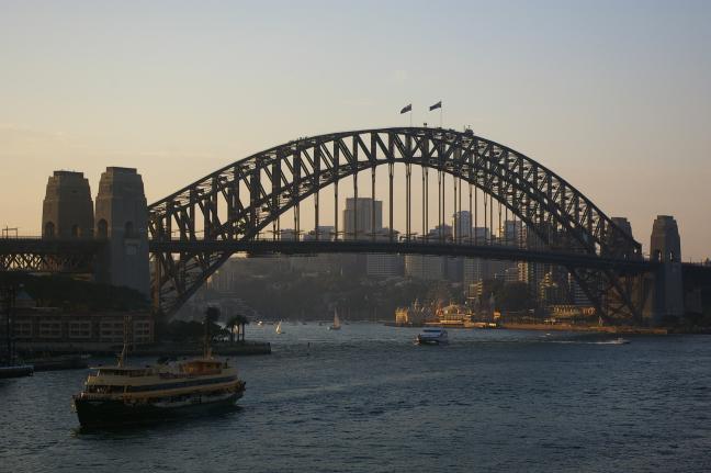 Harbour bridge......