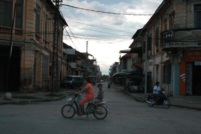 Franse architectuur in Battambang