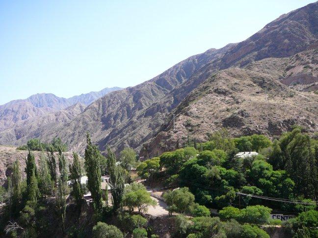 Andes bij Mendoza