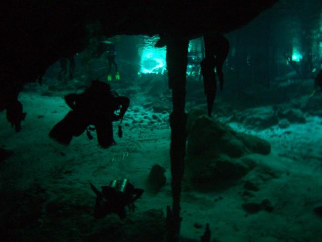 duiken in cenote 3