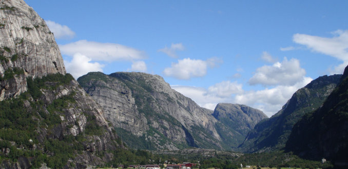 Lysefjord - Noorwegen
