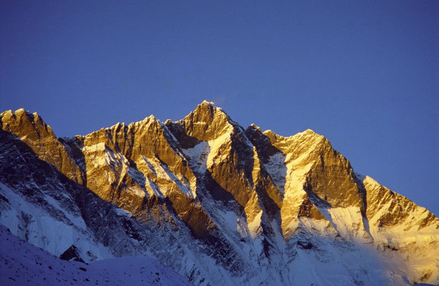 Lhotse sunset