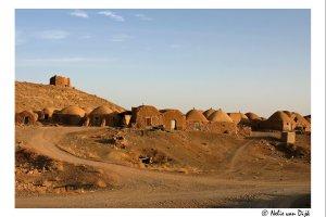 Woestijn dorp