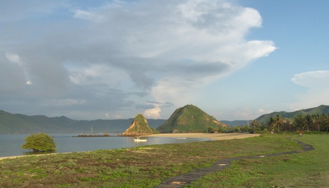 Baaie van Kuta (Lombok)