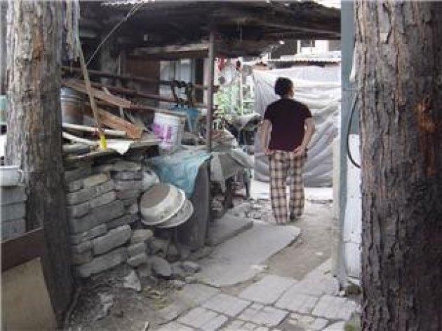 Oude wijk in Beijing