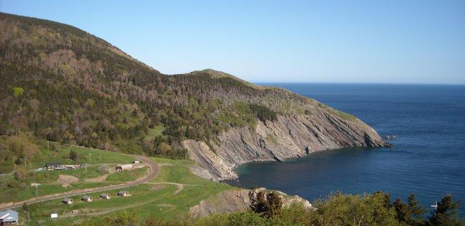Uitzicht Meat Cove Nova Scotia