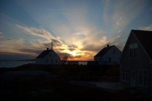 Zonsondergang Peggy's Cove