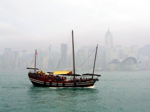Hong Kong eiland skyline