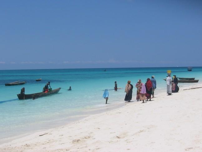 strand op Zanziabr