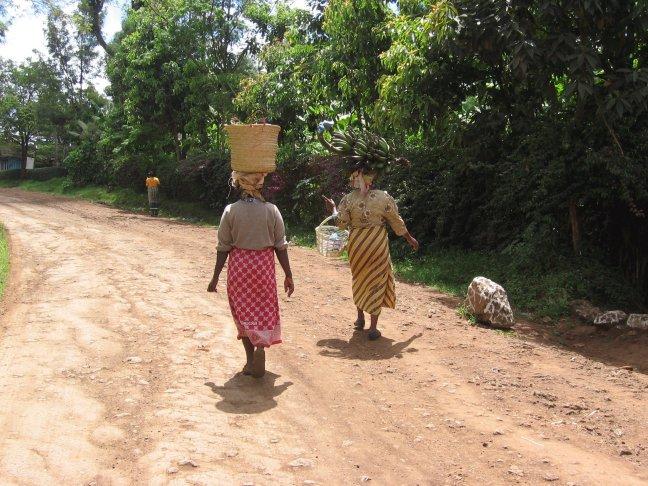 Straat (?) beeld Tanzania