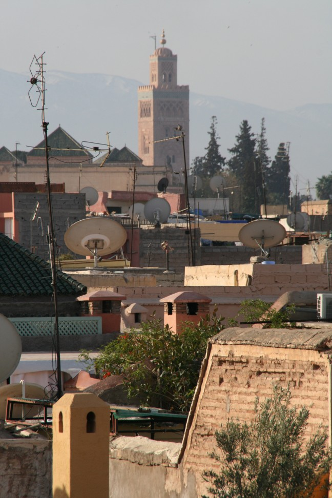 Koutoubia Roof-view