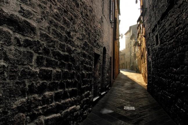 Ochtend in Volterra