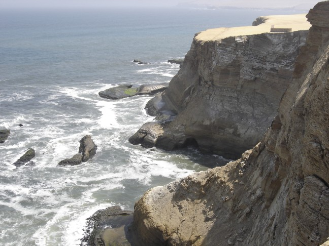 De kust van Peru
