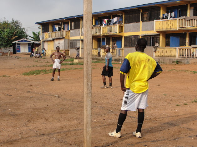 F.C. Accra in actie