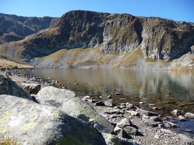 Kidney lake in het Rila gebergte