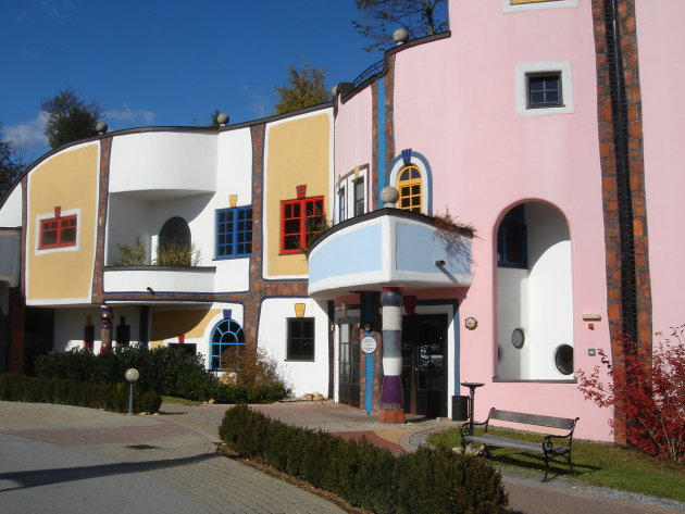 Hundertwasser in Bad Blumau