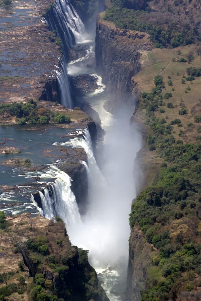 Victoria Falls Helicoptervlucht