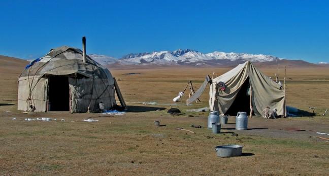 Nomaden tenten