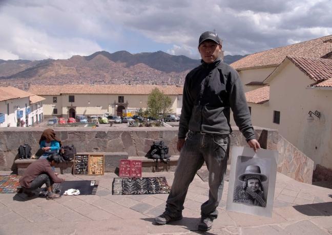 Kunstenaar Cusco