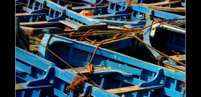 Bootjes bij Essaouira