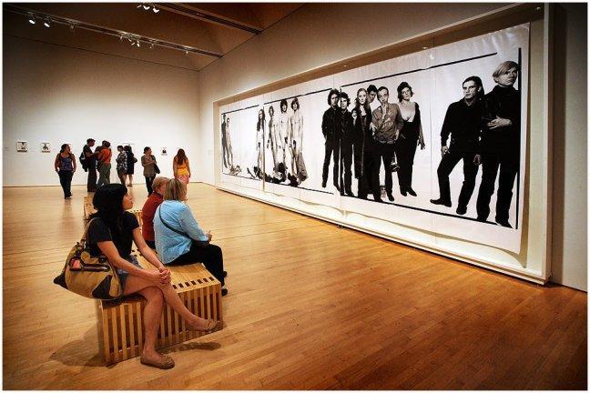 SF MOMA - Richard Avedon expo