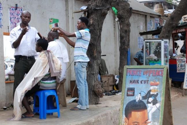 straatkapper in Ghana
