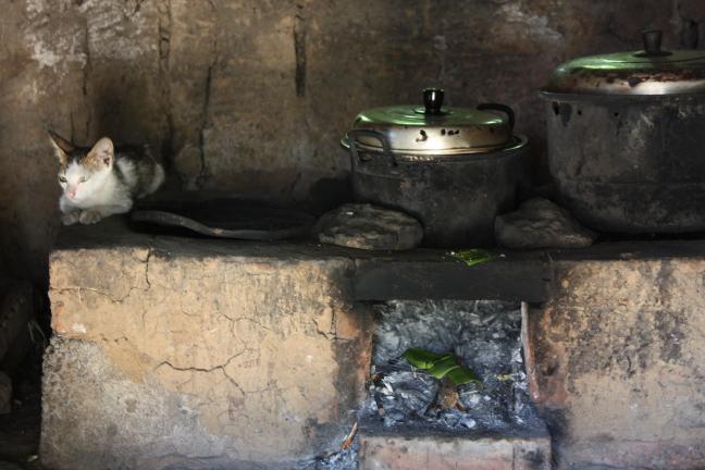 De Balinese keuken..